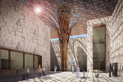 Architects Win International Comp For Stunning Modern Art
