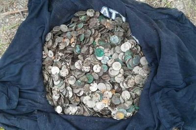 Builders find trove of interwar Polish coins buried in 18th century